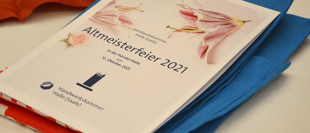Faltblatt Altmeisterfeier 2021