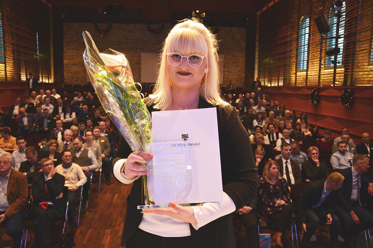 Lea Mey, erste Bundessiegerin der Augenoptiker PLW 2019