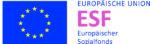 Logo ESF Europäischer Sozialfond