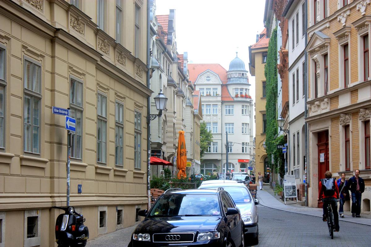 Kleine Ulrichstraße in Halle