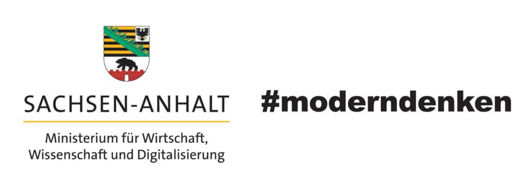 Logo Sachsen-Anhalt modern denken