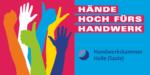 Logo Hände hoch fürs Handwerk