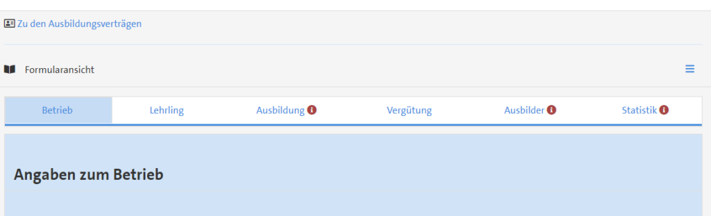 Screenshot Neues Mitgliederportal