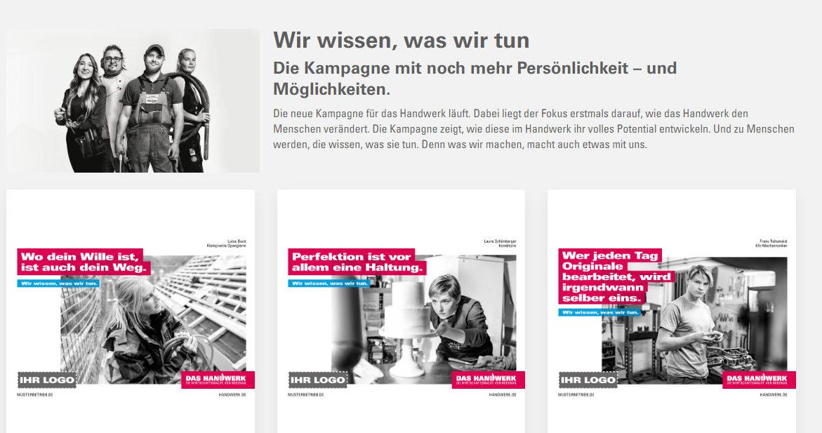 Screenshot Werbeportal