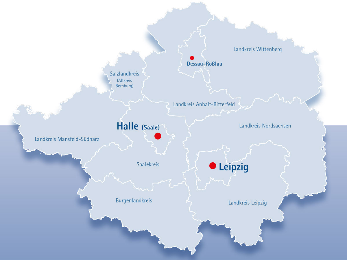 Wirtschaftsstandort Mitteldeutschland