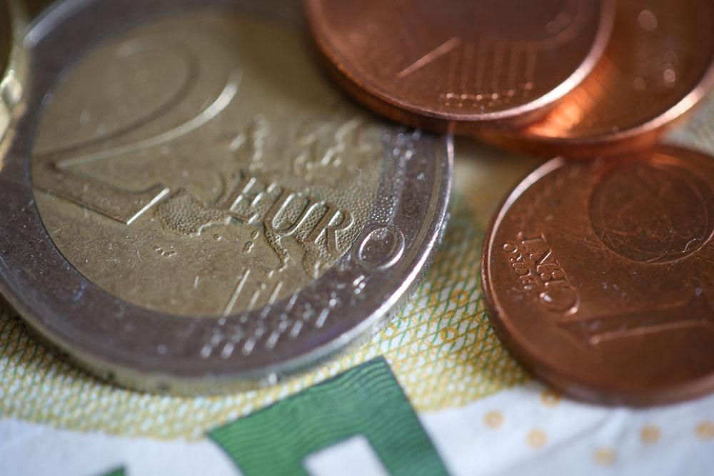 Euro Münzen Schein