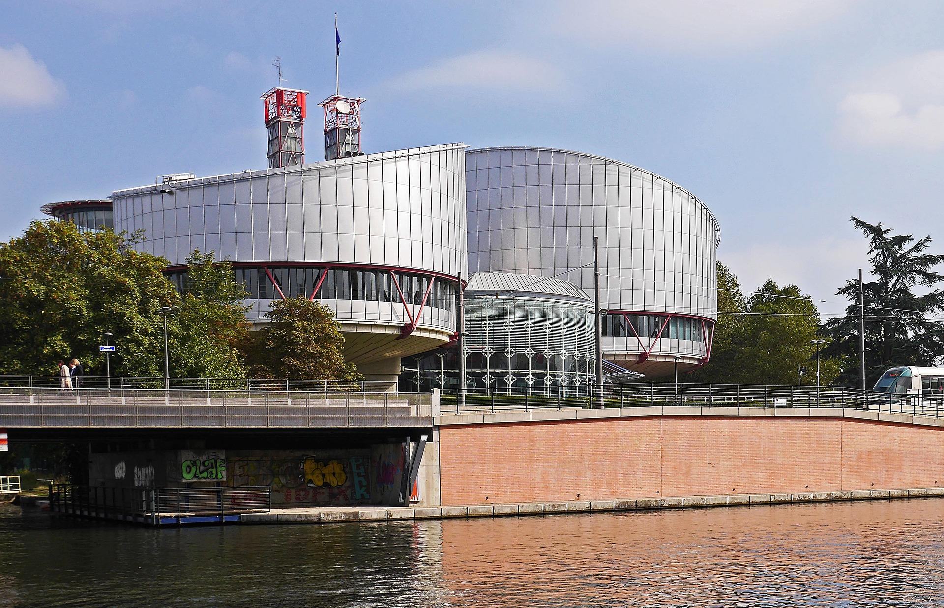 Gebäude des europäischen Gerichtshofs