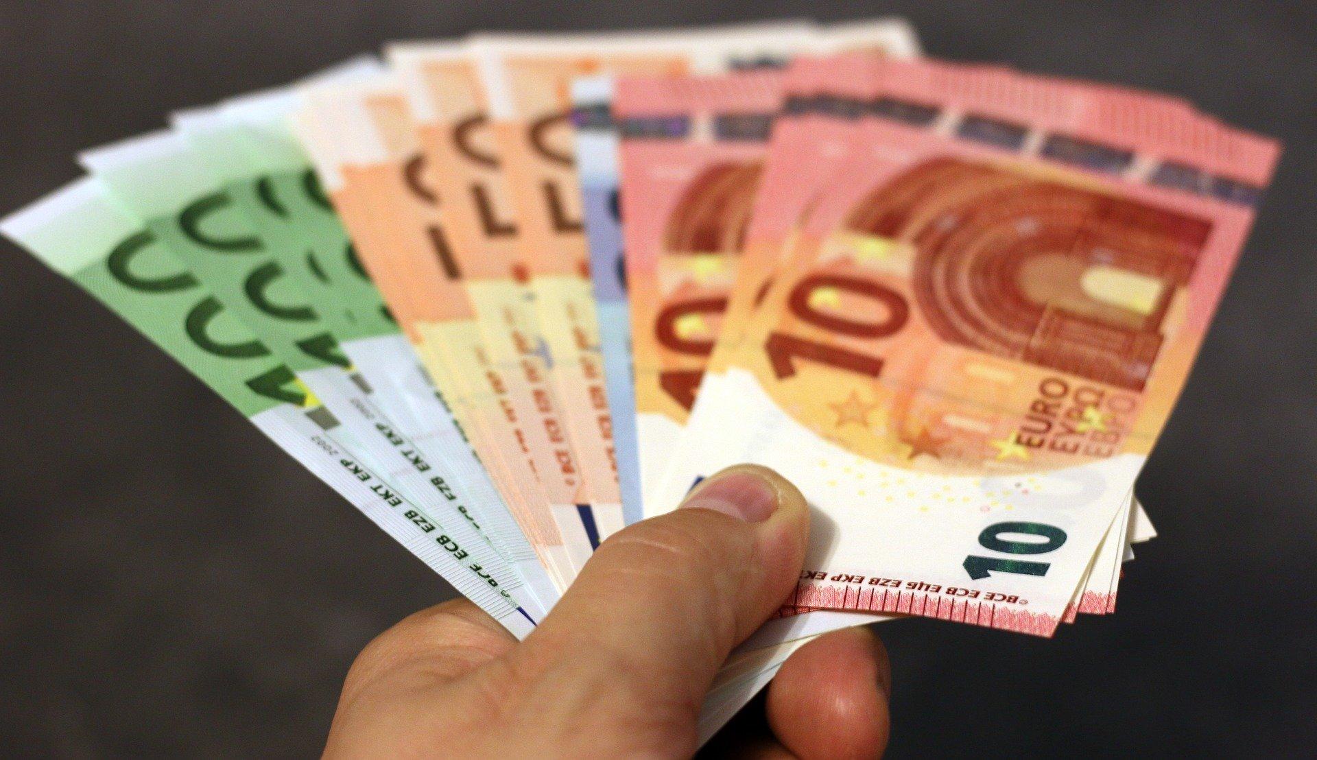 Geldscheine in Euro