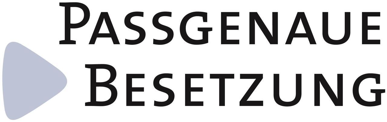 Logo Passgenaue Besetzung