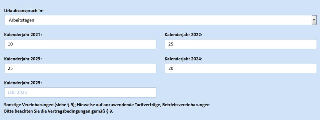 Mitgliederportal Screenshot Ausbildungsvertrag