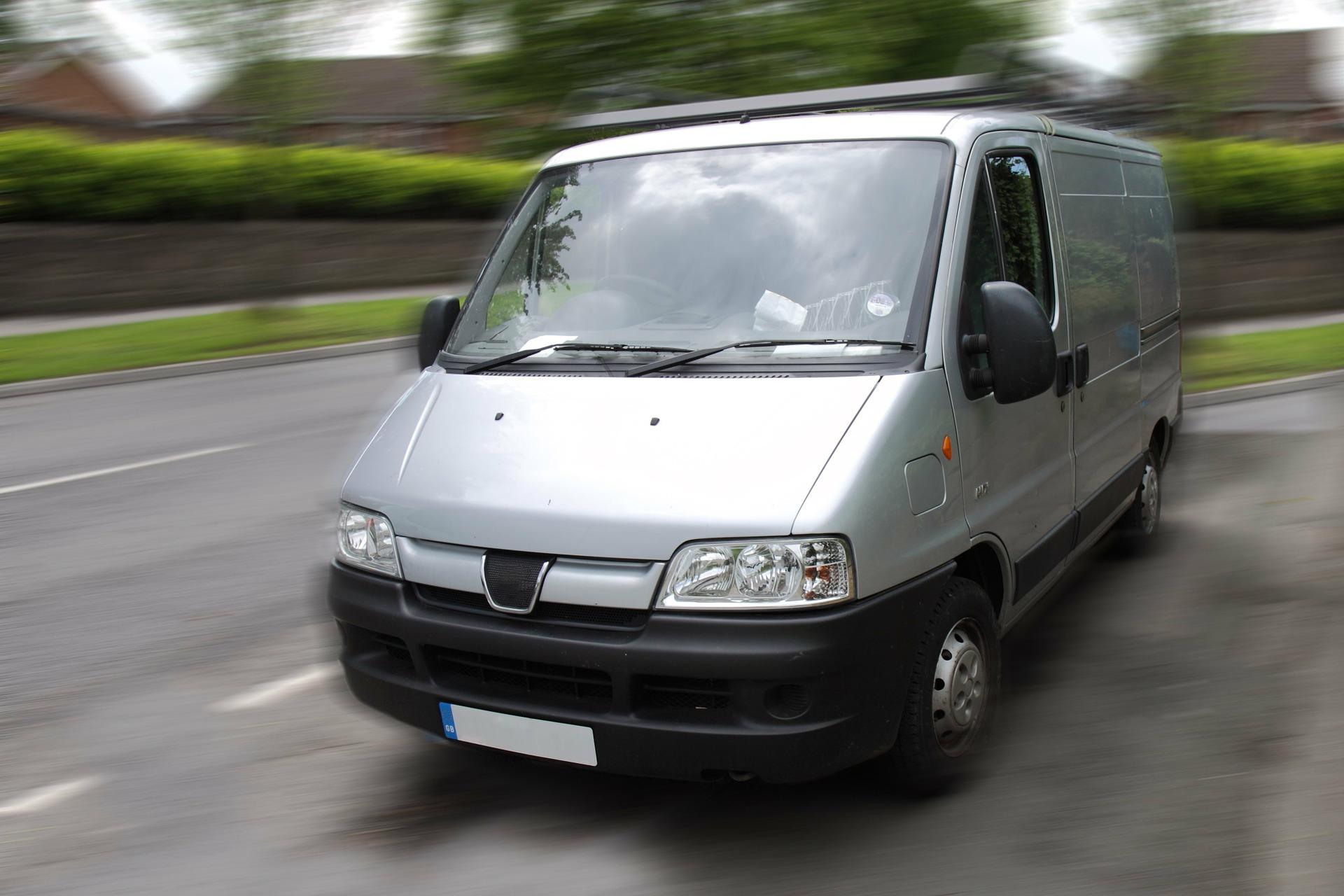 Transporterfahrzeug Handwerk